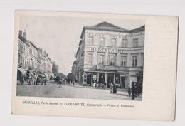 BRUXELLES PORTE LOUISE FLORA HOTEL - Cafés, Hôtels, Restaurants