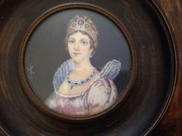 CAROLINA MURAT MINIATURA FRANCESE COME DA FOTO - Engravings