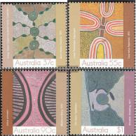 Australia 1119-1122 (complete.issue.) Unmounted Mint / Never Hinged 1988 Paintings - 1980-89 Elizabeth II