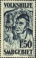 Saar 147 With Hinge 1931 Volkshilfe - Ungebraucht