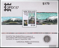 New Zealand Block13I (complete Issue) Unmounted Mint / Never Hinged 1987 CAPEX - Unused Stamps
