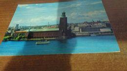 Cartolina: Stoccolma Stadshuset  Non Viaggiata (a9) - Cartoline