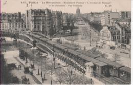 PARIS 15-Le Métropolitain-Boulevard Pasteur-l(Avenue De Breteuil-CM 215 - Arrondissement: 15