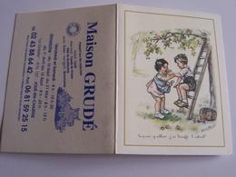 Bouret Germaine Petit Calendrier De Poche 2006  Tu Peux Y Aller J Ai Bouffe L Asticot  Maison Grude Joue En Charnie - Bouret, Germaine