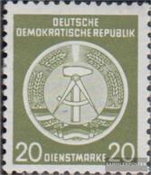 DDR DA8 Unmounted Mint / Never Hinged 1954 Circular Arc After Left - Ungebraucht