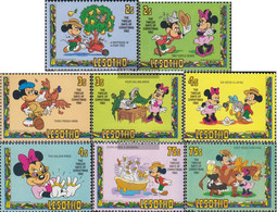 Lesotho 402-409 (complete.issue.) Unmounted Mint / Never Hinged 1982 Walt Disney Figures - Lesotho (1966-...)