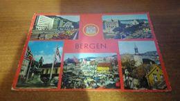 Cartolina:Bergen Viaggiata (a9) - Cartoline