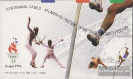 Israel 1397-1399 MH (complete Issue) Stamp Booklet Unmounted Mint / Never Hinged 1996 Olympics Summer - Israel