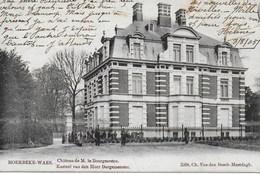 Moerbeke-Waes. Kasteel Van Den Heer Bourgemeester - Moerbeke-Waas