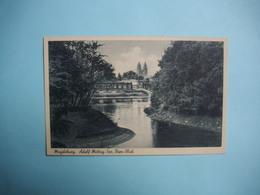 MAGDEBOURG  - MAGDEBURG  -   Adolf Mittag - See   -  Dom Blick   -  ALLEMAGNE - Magdeburg