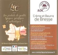 Dépliant - Le Meilleur De La Saône-et-Loire : Nos AOC Gourmandes (chapon De Bresse, Fromage Et Boeuf Charolais...) - Dépliants Touristiques