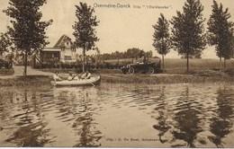 Overmeire-Donck (Berlare). Villa 't Vierklaverke. - Berlare