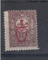 Türkei (AK) Michel Cat.no.    Vlh/*  537 - 1858-1921 Empire Ottoman