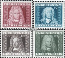 Liechtenstein 198-201 (completa Edizione) MNH 1941 Prince - Ungebraucht