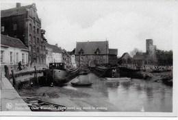 Rupelmonde (Kruibeke). Haven Met Oude Watermolen Nog Steeds In Werking. - Kruibeke