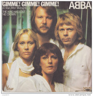 45 T ABBA GIMME GIMME GIMME - Other - English Music