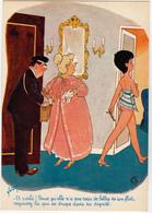 BELLUS  Ed  Yvon   N°11 -  Humour Facteur Pin Up - CPSM  10,5x15  TBE 1973 Neuve - Künstlerkarten