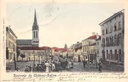 57-CHATEAU-SALINS-SOUVENIR - Chateau Salins