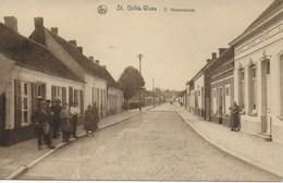 St Gilles Waes. 's Heerenstraat. - Sint-Gillis-Waas