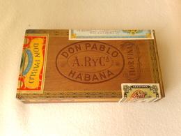 Boîte Pour Cigares DON PABLO HABANA - Around Cigars