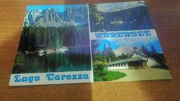 Cartolina: Lago Carezza Viaggiata (a9) - Cartoline