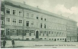 Bastogne - Etablissement Soeurs Notre-Dame Façade Début Siècle - N'a Pas Circulé - Bastogne