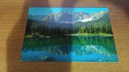 Cartolina:Lago Di Carezza  Viaggiata (a9) - Cartoline