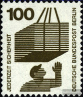 Berlin (West) 410A Ra With Black Counting Number Unmounted Mint / Never Hinged 1972 Accident Prevention - Unused Stamps