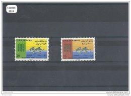 KOWEIT 1966 - YT N° 307/308 NEUF SANS CHARNIERE ** (MNH) GOMME D'ORIGINE LUXE - Koweït