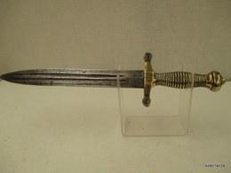 Glaive De Cantiniere Raccourci - Couteau De Tranchée ??? - 36 Cm  Bon état - Knives/Swords