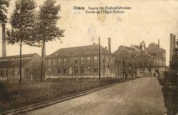 Belgium, OOLEN, Entrance Radium Factory, Radiumfabrieken (1927) Postcard - Olen