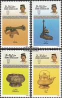 Brunei 355-358 (complete Issue) Unmounted Mint / Never Hinged 1987 Crafts - Brunei (1984-...)