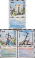 Israel 1192-1194 With Tab (complete Issue) Unmounted Mint / Never Hinged 1991 Elektrizitätserzeugung - Israel