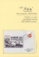 Deutsche Schiffspost - Marine: Ex 1956/2010, Deutsche Marine. FORSCHUNGS- UND VERMESSUNGSSCHIFFE, HI - Deutschland