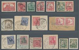Deutsche Schiffspost Im Ausland - Seepost: 1891-1927, Starkes Stempel-Lot Deutsche Seepost Bzw, Mari - Deutschland