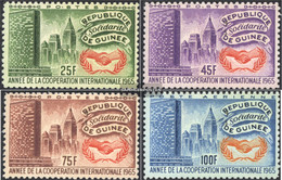 Guinea 314A-317A (complete Issue) Unmounted Mint / Never Hinged 1965 International. Co - Guinea (1958-...)