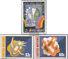 UN - New York 704,705-706 (complete Issue) Unmounted Mint / Never Hinged 1996 Special Stamps - New York – UN Headquarters