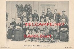 42 // Groupe De Dentellières A APINAC   Edit Martin Bost - Autres Communes