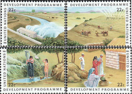 UN - New York 491-494 (complete Issue) Unmounted Mint / Never Hinged 1986 Development - Unused Stamps