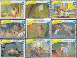 St. Vincent-grenadines 1084-1092 (complete Issue) Unmounted Mint / Never Hinged 1992 Walt-Disney-Film - St.Vincent & Grenadines