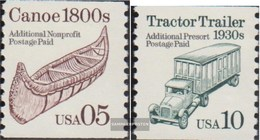 USA 2137-2138 (completa Edizione) MNH 1991 Veicoli - Stati Uniti