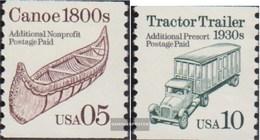 USA 2137-2138 (completa Edizione) MNH 1991 Veicoli - Ongebruikt