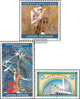 UN - New York 689-690,691 (complete Issue) Unmounted Mint / Never Hinged 1995 Special Stamps - New York – UN Headquarters