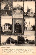 CPA Saint-jean-de-la-Forêt (Orne) M. L'Abbé Goblet Et Ses Calvaires - Multivues - Collection F. Goblet - Frankreich
