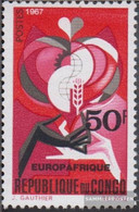 Kongo (Brazzaville) 133 (complete Issue) Unmounted Mint / Never Hinged 1967 Europafrique - Congo - Brazzaville