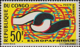 Kongo (Brazzaville) 63 (complete Issue) Unmounted Mint / Never Hinged 1965 Europafrique - Congo - Brazzaville