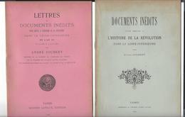 Loire - Inférieure Révolution République Chouannerie 2 Brochures André Joubert 1889-90 - Livres, BD, Revues