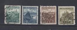Tchécoslovaquie  1931 -YT / 314 - 312 - 315  Lot De 4 Timbres - Tchécoslovaquie