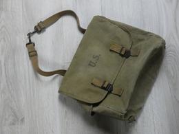 MUSETTE AMERICAINE. M.36 1943. TRES BON ETAT. AUTENTIQUE. - Equipment