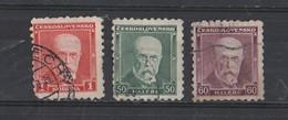 1920 -YT /  168 - 169 - 172 - Czechoslovakia